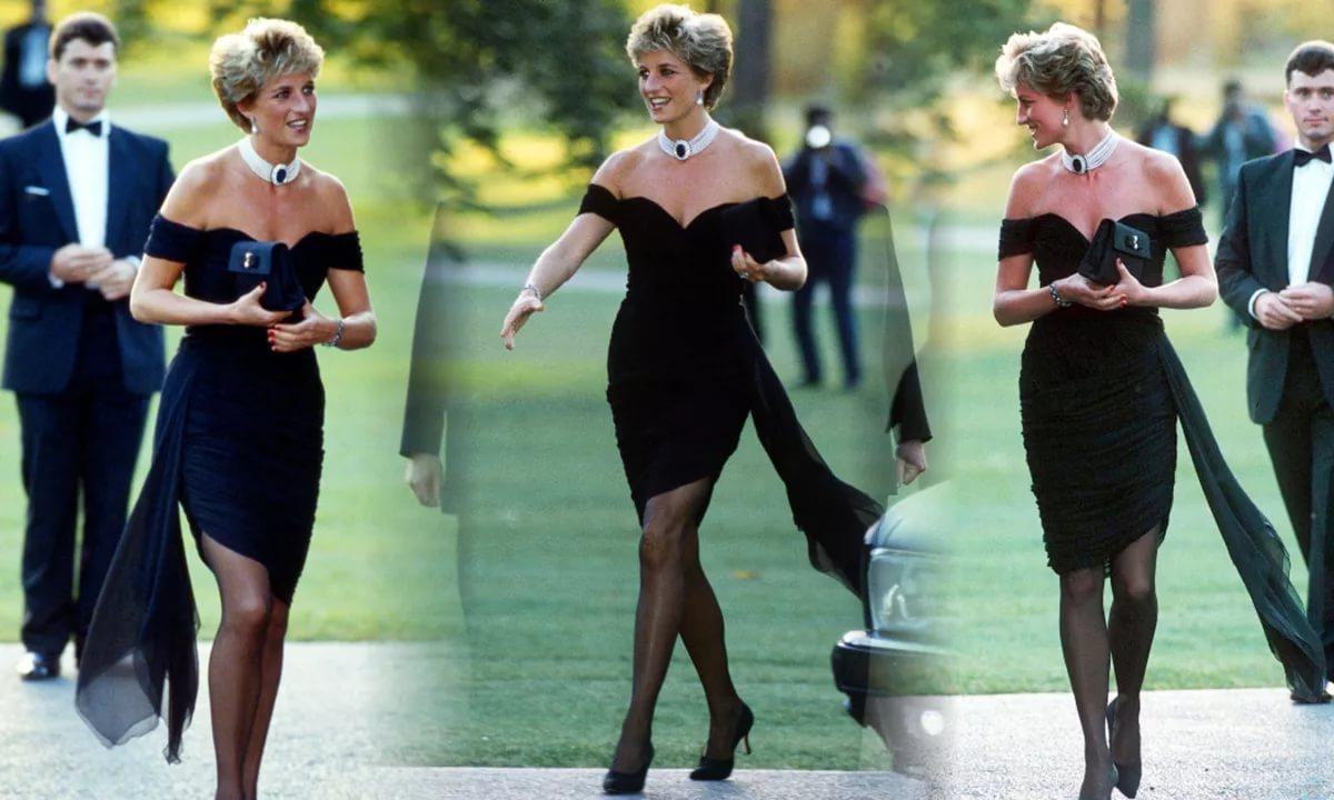 Черное Платье Мести Принцессы Дианы